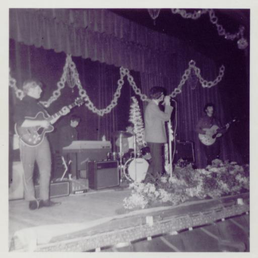 The Questions (later Uncle Herbert) at Colwyn Bay Pier, Jan. 14th 1967
