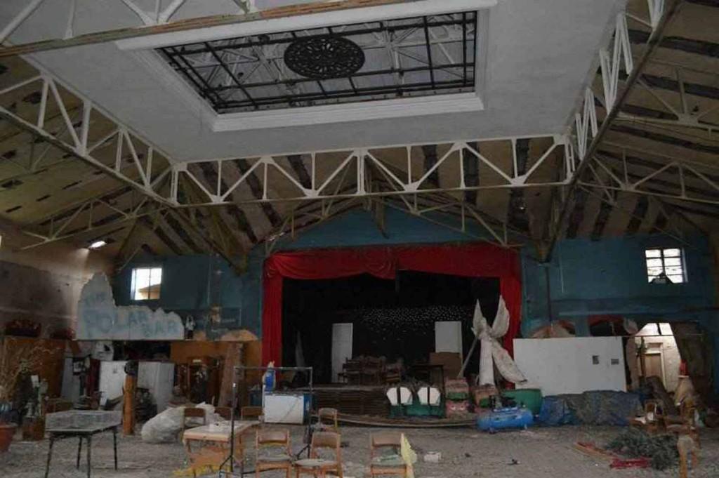 Inside Pier
