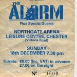 alarm ticket
