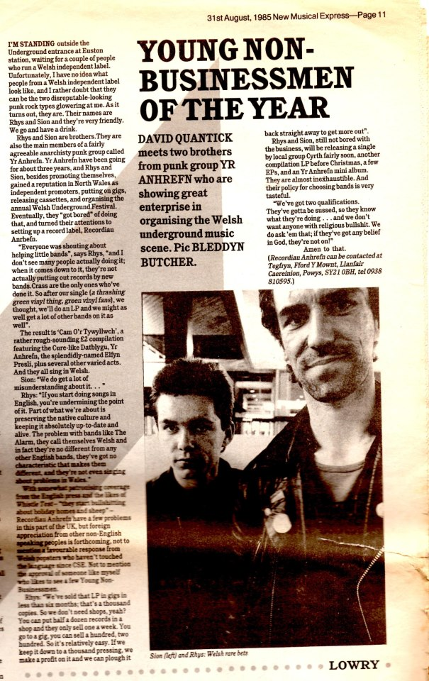NME 31.08.85