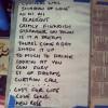 Damned Set list