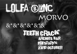 Lolfa Binc / Morvo / Teeth Crack