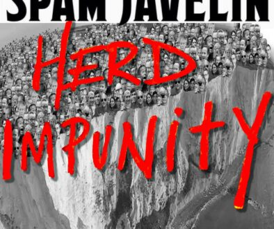 Spam Javelin - Herd Impunity sleeve
