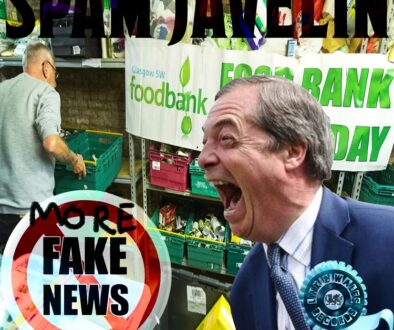 Spam Javelin More Fake News